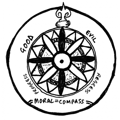 """Moral Compass"" by Paul Downey via flickr"